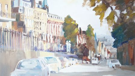 Phillip Sanderson exhibits his work at the Highgate Gallery this month