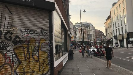 Residents say the night-time economy is shifting away from Old Street Roundabout towards areas like Shoreditch High...