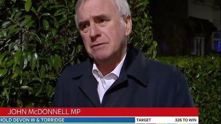 The Shadow Chancellor John McDonnell has claimed that the Labour Party 'won the argument' but couldn
