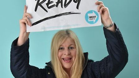 Jill Hughes was selected by the Brexit Party as its general election candidate for Batley and Spen.