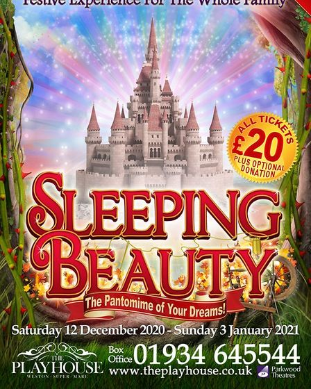 The socially distanced Sleeping Beauty pantomime at Weston Playhouse has been cancelled due to tier 3 restrictions.