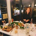Camilla Pryce at work in the kitchen for her Camikazi food brand.
