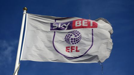 File photo dated 12-09-2020 of A EFL Flag.