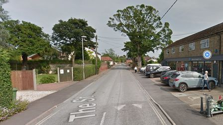 The Street in Brundall where a teenager was injured in a hit and run