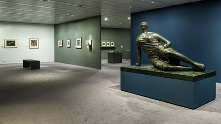 Bill Brandt/Henry Moore, on display at the Sainsbury Centre for Visual Arts.
