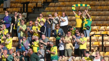 Norwich City fans Carrow Road Championship return Sheffield Wednesday game