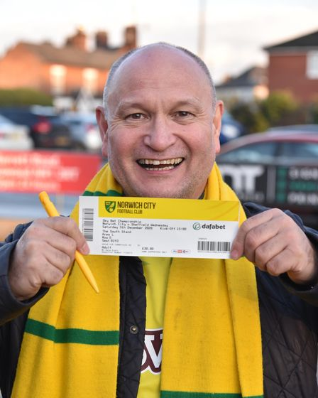 Fans return to Carrow Road for Norwich City's match against Sheffield Wednesday. Dale Ajelo