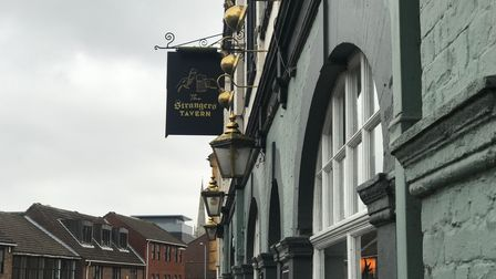 The new signs at the Strangers Tavern, formerly the Mash Tun. Photo: Archant