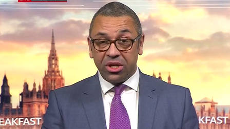 James Cleverly on BBC Breakfast