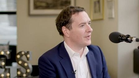 George Osborne appears on LBC Radio. Photograph: LBC.