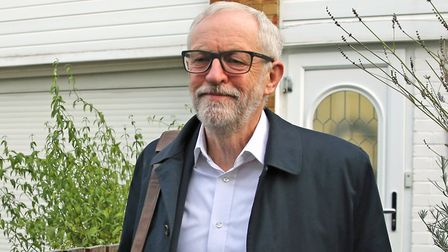 """Jeremy Corbyn said Labour is the """"resistance"""" to Boris Johnson's government. Picture: Isabel Infante"""