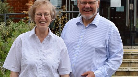Tony and Lydia Hurle from St Paul's Church in St Albans.