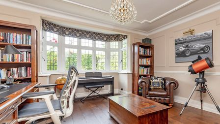 One of the property's three reception rooms. Picture: Cassidy & Tate