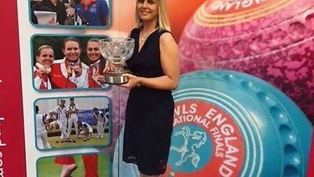 ELLEN FALKNER, from Littleport BC, won the Taylor Bowls sponsored honour in recognition of her fine performances at the...