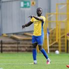 Dave Diedhiou grabbed the equaliser for St Albans City away to Concord Rangers in the National League South. Picture...