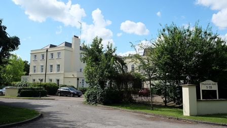 Highfield Hall has been converted into flats. Picture: Danny Loo