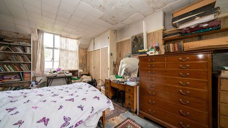 One of the three first-floor bedrooms. Picture: Bradford & Howley