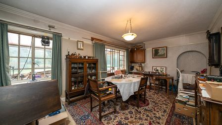 Period features include coving and picture rails. Picture: Bradford & Howley