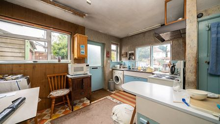 A door from the kitchen leads to the side of the property. Picture: Bradford & Howley