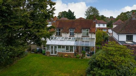 The house is available for sale with no onward chain. Picture: Bradford & Howley