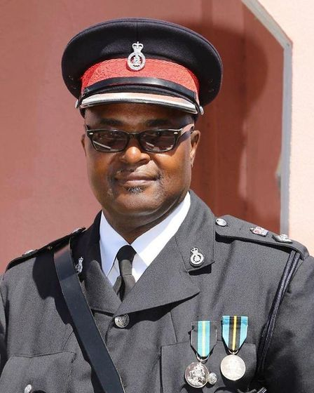 Retired Royal Bahamas Police Force superintendent Dennis Dames inspired students at TBAP Octavia AP Academy in Wisbech. Pictu...