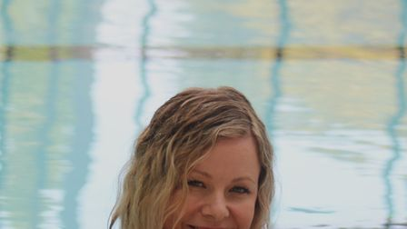 Stacey Turner of It's OK To Say is training to take part in a charity Channel swim next year. Picture: Sonny Moxey