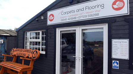 Oakwood Carpets and Flooring at Bambers Leisure near Wisbech. Pictures: Ian Carter