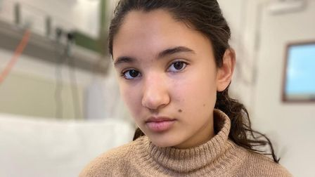 Arya Lloyd is relying on a complete stranger to save her life after being diagnosed with a life-threatening blood disorder...