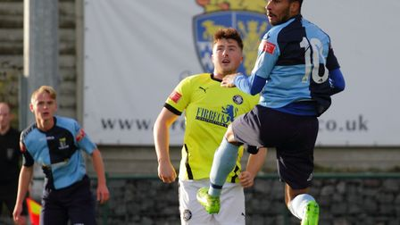 St Neots Town have been drawn at home again in the FA Trophy. Picture: DAVID RICHARDSON/RICH IN VIDEO