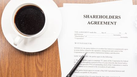 With the right legal advice, setting up a shareholders' agreement is simple and easy to do. Picture: Getty Images