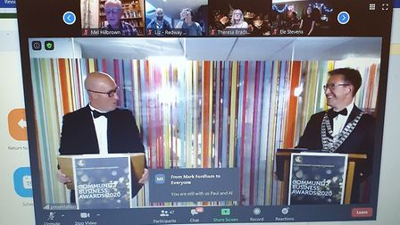 The 2020 St Albans Chamber of Commerce Community Business Awards were presented on Zoom by Paul Rosenthal and Alastair...