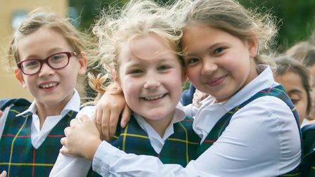 Girls between three and 18 years old can apply to join. Picture: St. Francis' College
