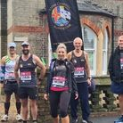 Three Counties members took on the virtual London Marathon, where they received support from residents and relatives alike...