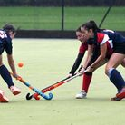 Wisbech ladies 1sts in action during their league win over Cambridge City 4ths. Picture: IAN CARTER