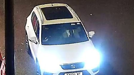 This is the car caught on CCTV that could be linked to the burglary in St Ives.