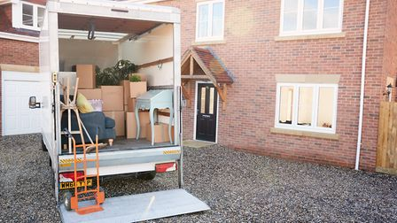 Moving house is up there with divorce and redundancy in the stressful life event stakes. Getty Images/iStockphoto