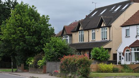Some of the period homes on Hatfield Road, St Albans. Picture: Danny Loo