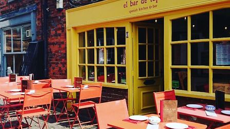 Thieves broke into el bar de tapas in Stevenage Old Town and stole cash and iPads, as well as causing damage to the property.