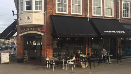 General manager at Letchworth's Esquires Amy Johnson came up with the idea to replace the stolen money. Picture: Emily...