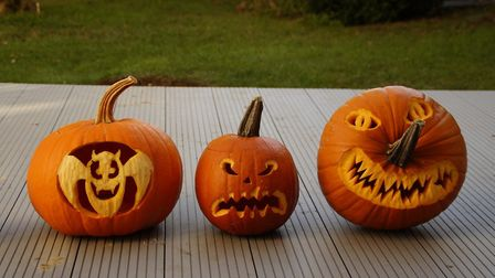 Why not take part in Rennie Grove's pumpkin carving competition?