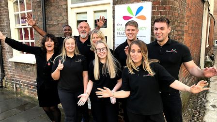 Staff at The Accountancy Practice in Royston. Picture: Helen Froggett-Thompson