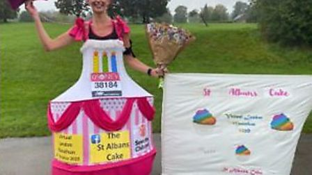Anna Bassil's baking-based extravaganza raised over £6,000 for Save the Children. Picture: Anna Bassil