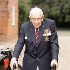 National hero Captain Sir Tom Moore. Picture: The Captain Tom Foundation