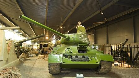 Captain Sir Tom at 100 will be on display in the Land Warfare Hall at IWM Duxford. Picture: IWM
