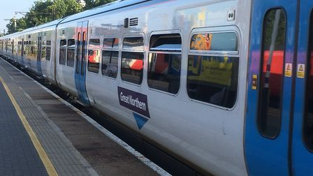 Great Northern trains may be subject to delay after a railway bridge in Cambridge Road, Hitchin was hit by a passing...