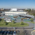 An artist's impression of what the new Stevenage bus interchange will look like. Picture: Courtesy of Stevenage Borough...