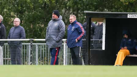 Colney Heath will be at home in the FA Vase if they can beat Holland. Picture: DANNY LOO