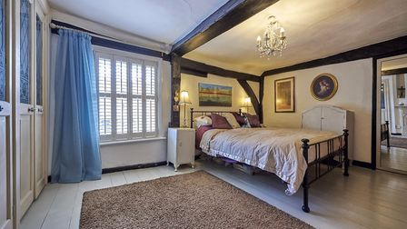 One of the property's four bedrooms. Picture: Frosts's