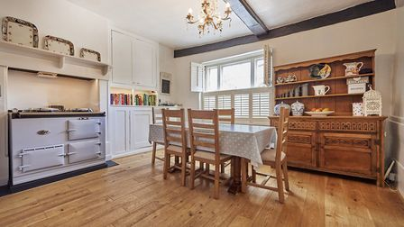 The kitchen/breakfast room is on the ground floor. Picture: Frosts's
