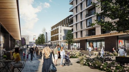 Boluevard View will form part of the SG1 development. Picture: Mace